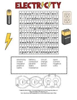 printable word search electricity electricity activity electricity word search electricity
