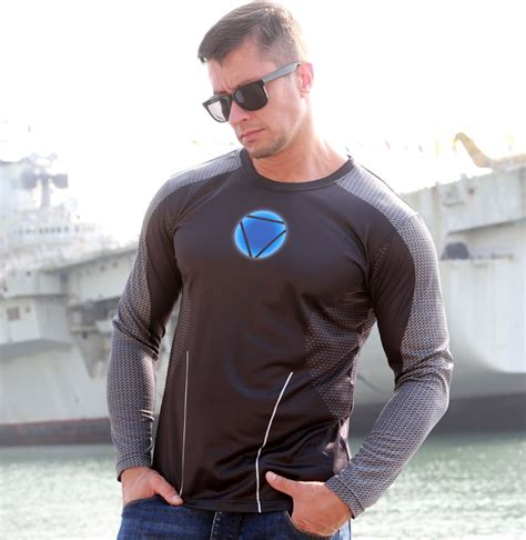 Hoodie Ironman 1 marvel heroes iron tony stark armor shirt large size sleeve t shirt
