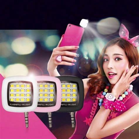 Selfie L Lu Selfie Flash Light Selfie mini portable rechargeable 16 led selfie flash led le