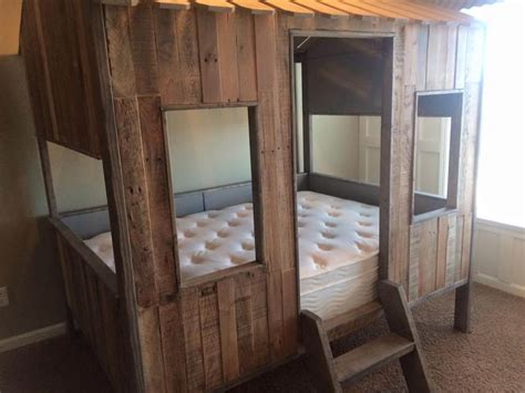 kids pallet bed pallet bed or kids playhouse
