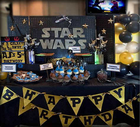 star wars decor star wars decorations cupcakesandtablescapes