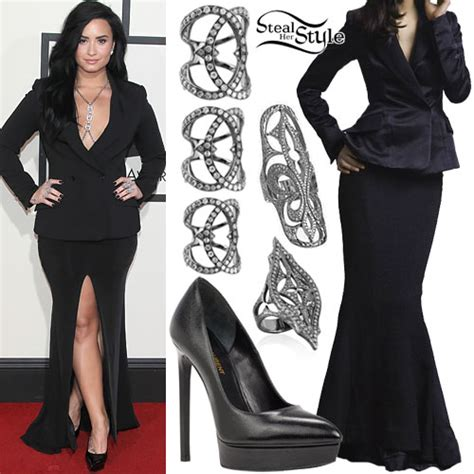 demi lovato confident grammy demi lovato fashion clothes outfits steal her style