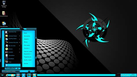 imagenes de windows 10 para pc tema black blue para windows 8 y 8 1 youtube