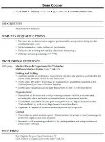 Resume Objectives For Administrative Assistants Exles by Resume Administrative Assistant