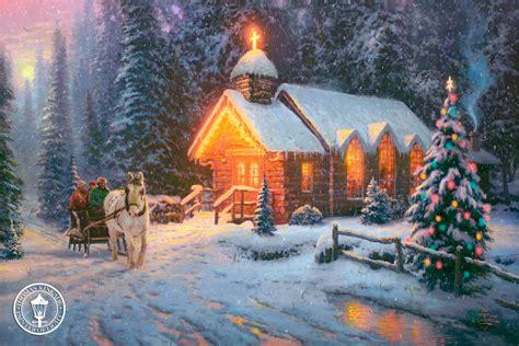 christmas ka wallpaper christmas pictures blog thomas kinkade christmas