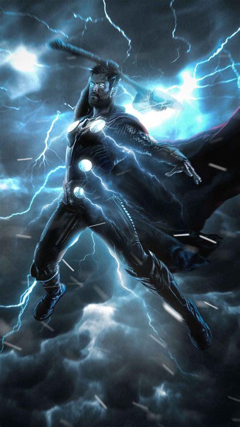 avengers endgame thor stormbreaker iphone wallpaper