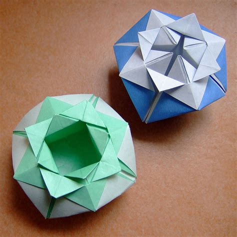 Origami Box Flower - origami flower box flickr photo