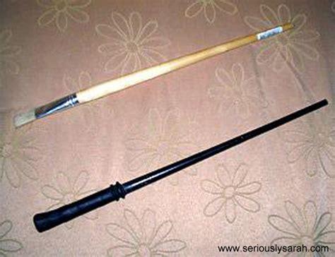 Tutorial Wand | hogwarts robe and wand tutorial seriously sarah