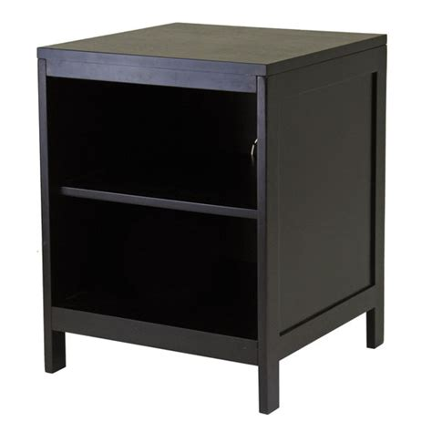 Corner Bookcase Units by The Hailey Small Tv Stand By Winsome Wood Modern Home Decor