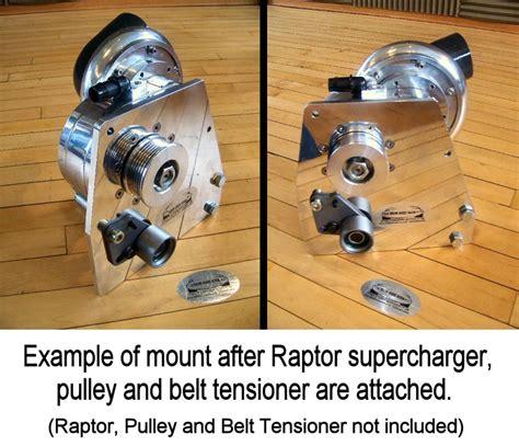 engine mount and installation jetprop llc universal raptor supercharger bracket from 928