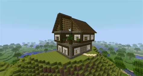 minecraft wood house minecraft seeds pc xbox pe ps4
