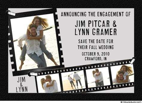 Wedding Announcement Miami by Wedding Announcements With The Planning Hat A