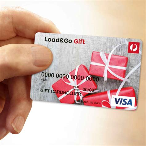 Buy Reloadable Visa Gift Card Online - load go gift card australia post