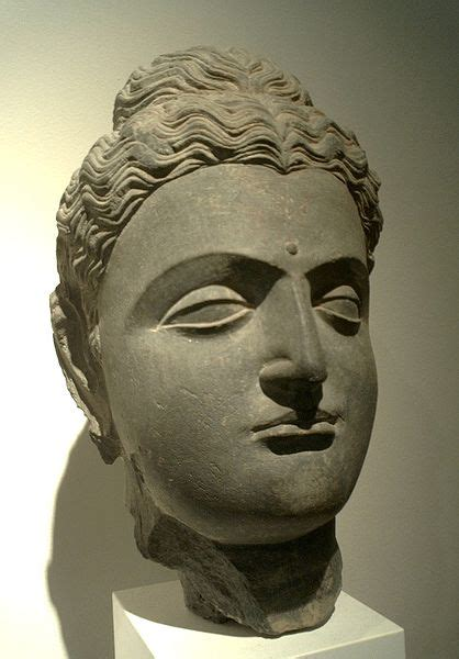 buddhist hair traditions the buddha the art of gandhara