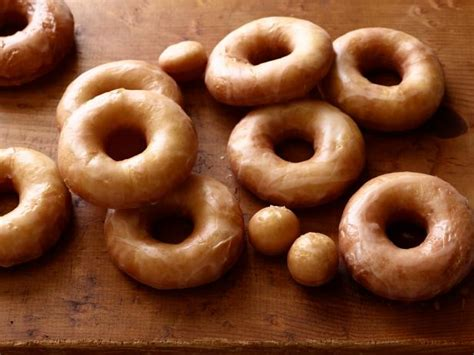 Handmade Donuts - glazed doughnuts recipe ree drummond food network