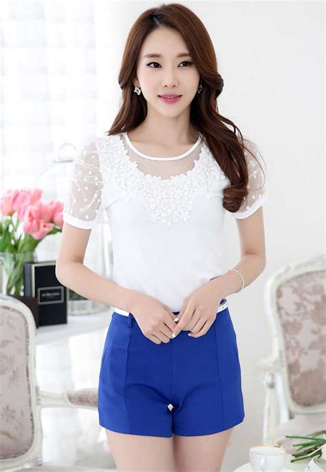 Baju Import Baju Murah Baju Fashion A30419 Blouse baju blouse wanita import collar blouses