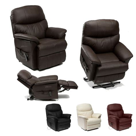 riser recliner armchairs lars leather rise riser and recliner armchair tilt and