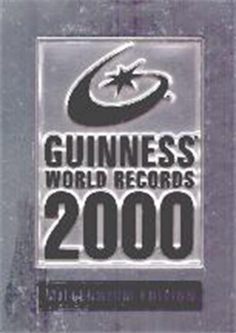guinness world records 2000 0851120989 reference books for men