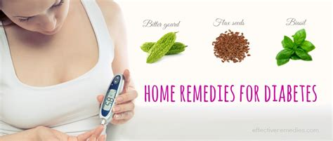 32 effective home remedies for diabetes