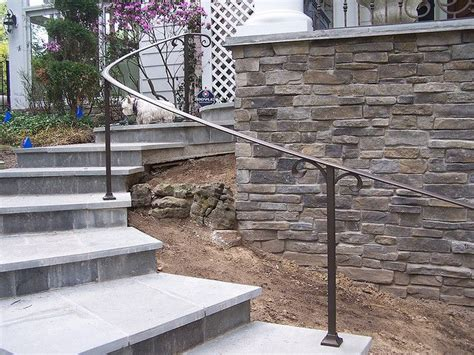 Exterior Wall Mounted Handrails For Stairs 17 Best Ideas About Iron Handrails On Wrought