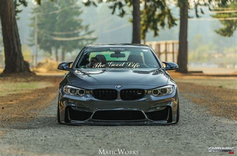 stanced bmw  convertible  front
