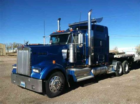 kenworth kw kenworth w900 2008 sleeper semi trucks