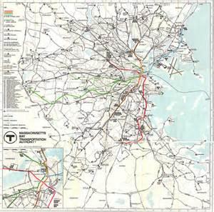 Mbta Map Red Line by Mbta System Map 1967 Flickr Photo Sharing