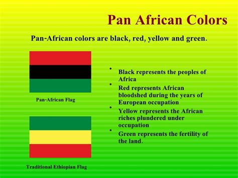 colors of africa black history month