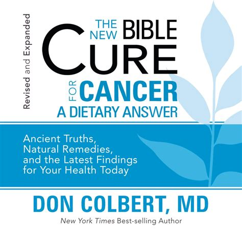 a cancer books the new bible cure for cancer audiobook by don