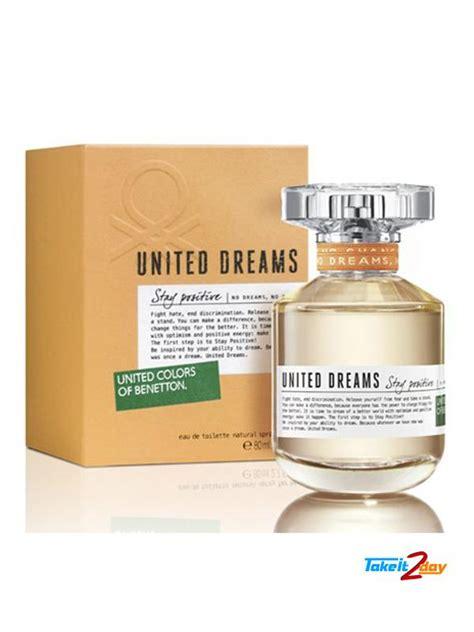 Benetton United Dreams Stay Positive Original Parfum 100 united colors of benetton united dreams stay positive perfume for 100 ml