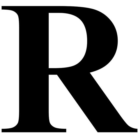 Letter R Images the gallery for gt letter r fonts