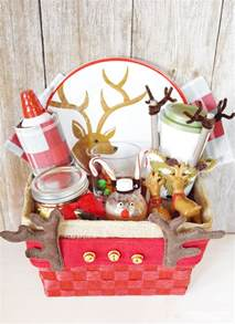 Basket Ideas Reindeer Gift Basket Such A Fun Gift Basket Idea For Christmas Sprinkle Some Fun