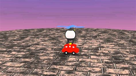 Blender Hartono flying heli