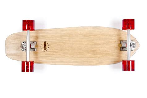 Handmade Skateboard - personalised handmade ash 70 s skateboard by nudie boards