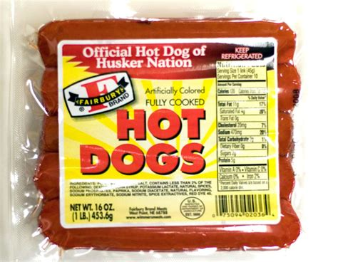 old hot dog brands fairbury products wimmer s meats