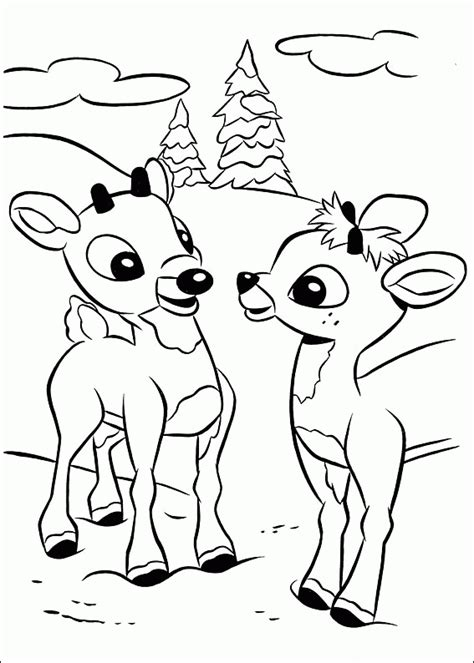 Free Coloring Pages Of Rudolph Free Printable Coloring Pages Rudolph