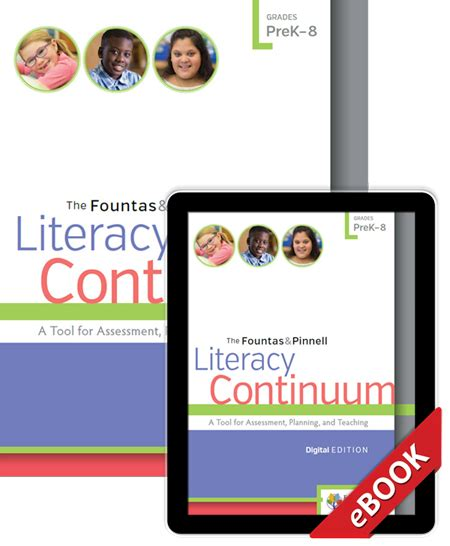 the fountas pinnell literacy continuum expanded edition a tool for assessment planning and teaching prek 8 the fountas pinnell literacy continuum digital edition