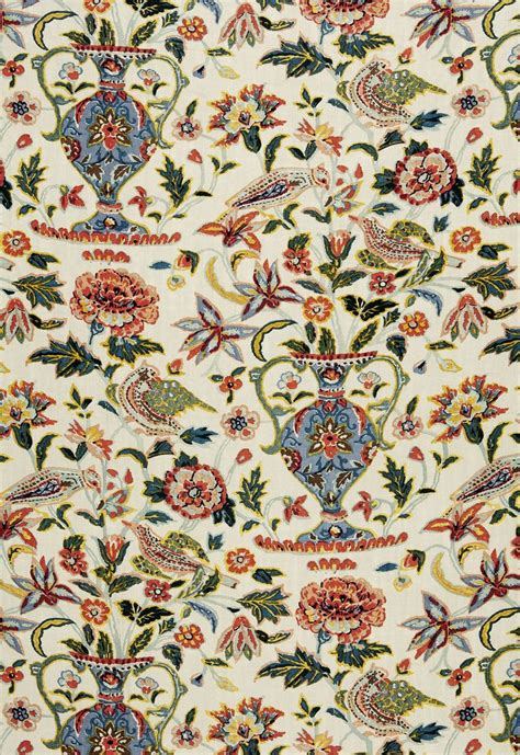 schumacher fabric fabric camberwell vase print in document schumacher