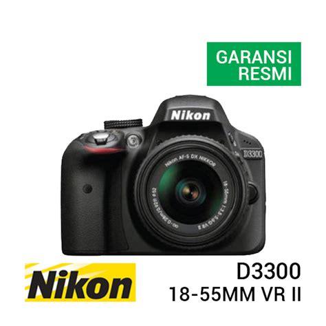 Nikon D 3300 Kit Vr Ii jual nikon d3300 kit af s 18 55mm vr ii harga dan