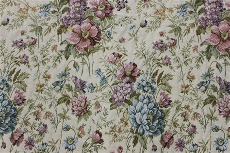 edwardian upholstery fabric cottage floral tapestry 6 yds upholstery fabric victorian