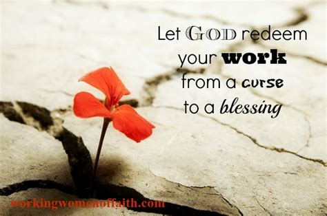 A Blessing A Curse working of faith equipping to win work