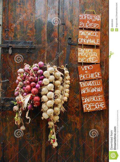 outside displays display outside italian vegetable shop stock photo image