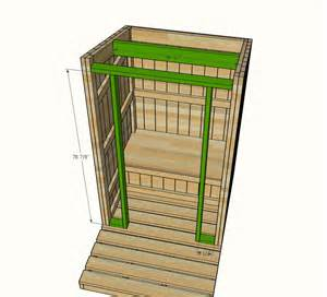 Buildtheplan Ana White Outhouse Plan For Cabin Diy Projects
