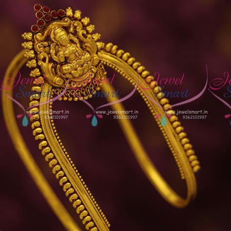 Images For Bajuband ar7304 south indian traditional jewellery antique gold plated aravanki bajuband