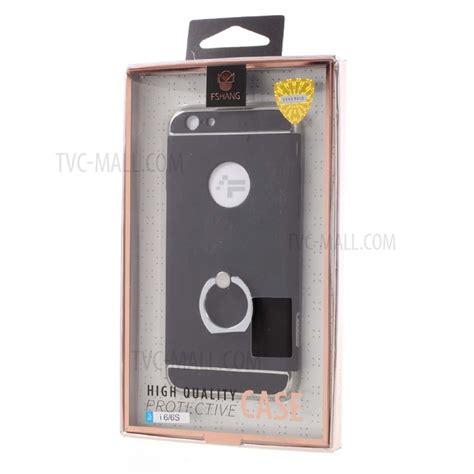 Hardcase Fshang Iphone 66pls fshang finger ring kickstand phone for iphone 6s 6 black tvc mall