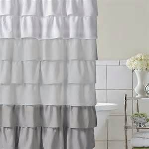 Pretty Shower Curtains Whimsy Pretty Things Ruffle Shower Curtains