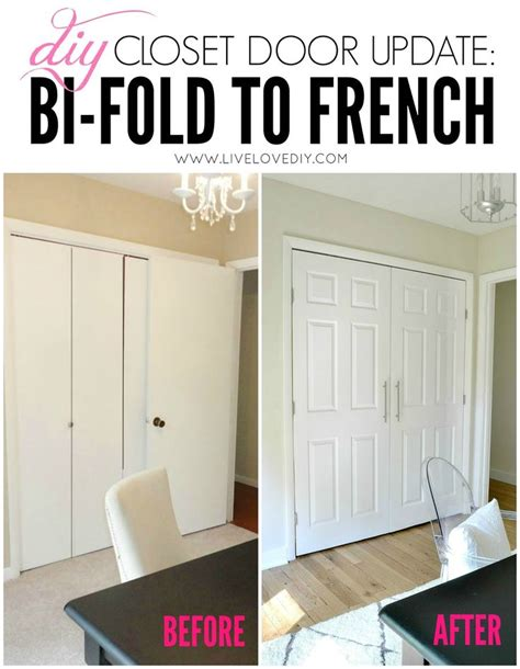 How To Update Sliding Closet Doors Diy Closet Door Update How To Update Your Bi Fold Doors To Modern Doors Such An