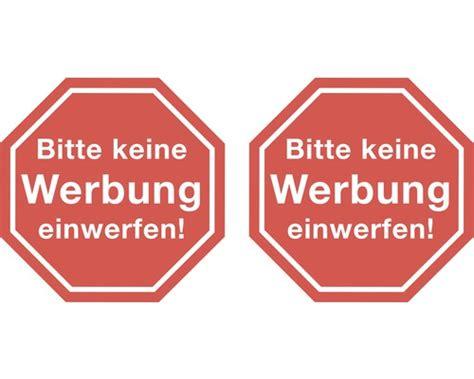 Aufkleber Kaufen Keine Werbung by Aufkleber Quot Bitte Keine Werbung Einwerfen Quot 45x45 Mm Bei