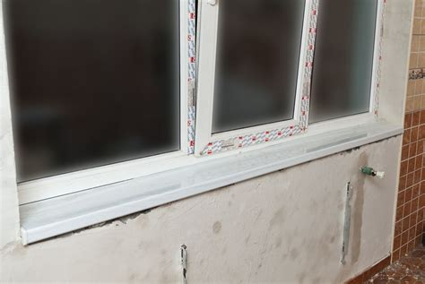 Cutting Window Sill How To Install A Window Sill Howtospecialist How To