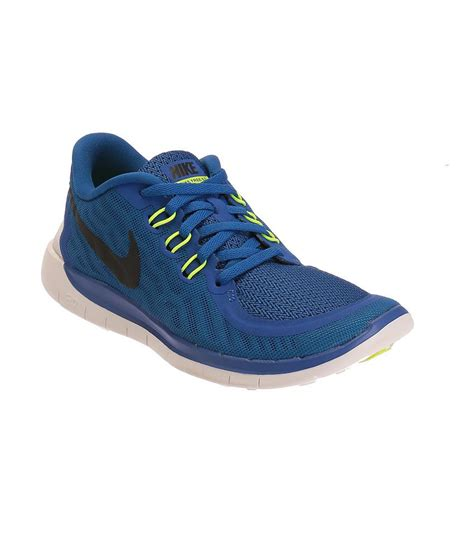 nike free 5 blue and black sports shoes for price in